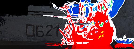 vers la galerie Marines Dominque favreul Artiste peintre, peintures acryliques et digraphies