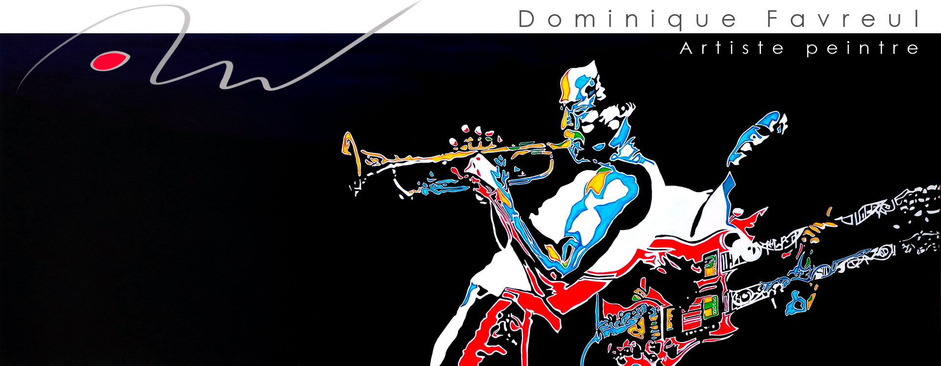 Dominique Favreul Artiste peintre peintures et digraphies