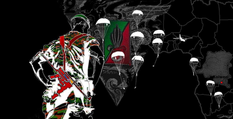 Kolweizi Armée de terre Digraphie 50x70 sur iPad Peintures armée de terre