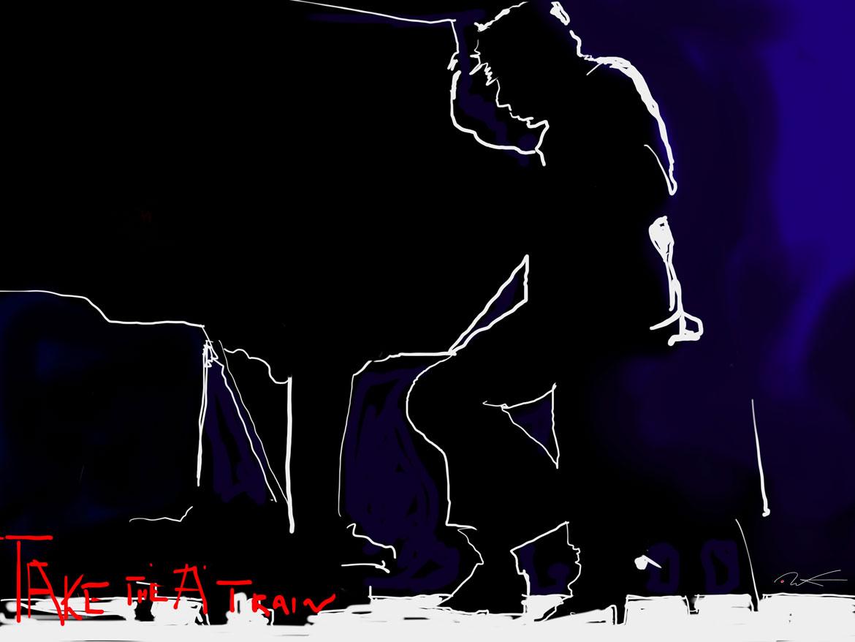 "Duke Ellington take the ""A""train"
