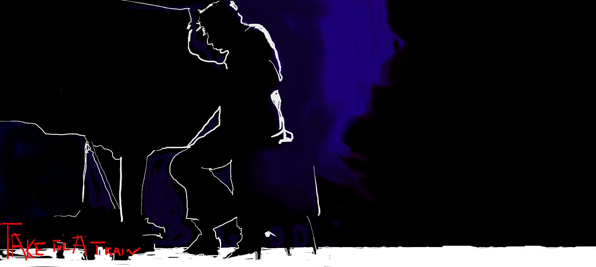 "Duke Ellington take-the ""A"" train"