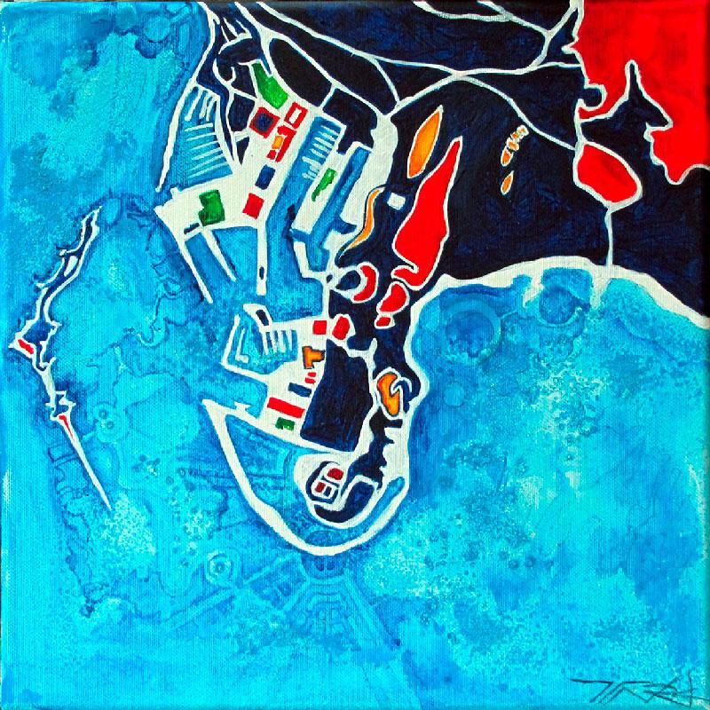 le port de Jersey iles Anglo-normandes